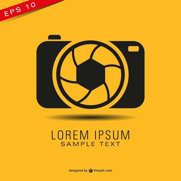 Photography vettore libero logo simbolo Vettore gratuito