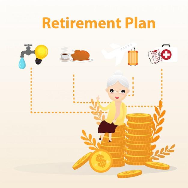 Piano di previdenza conce Vettore Premium