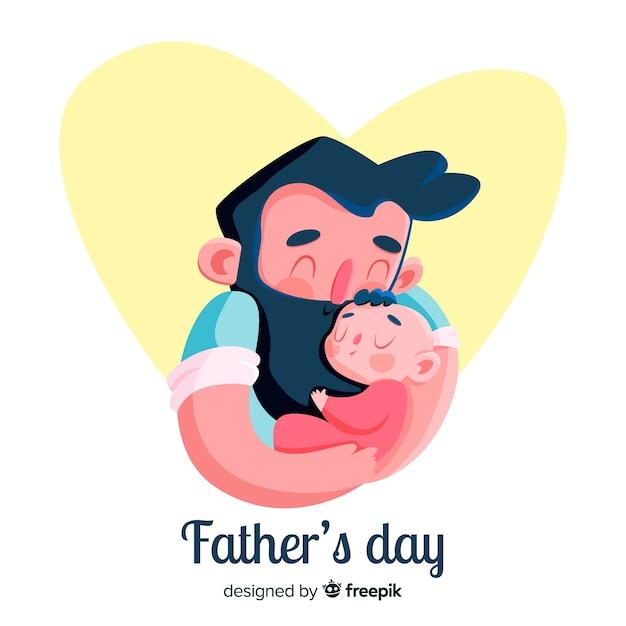 Piatto fondo di giorno del padre Vettore gratuito