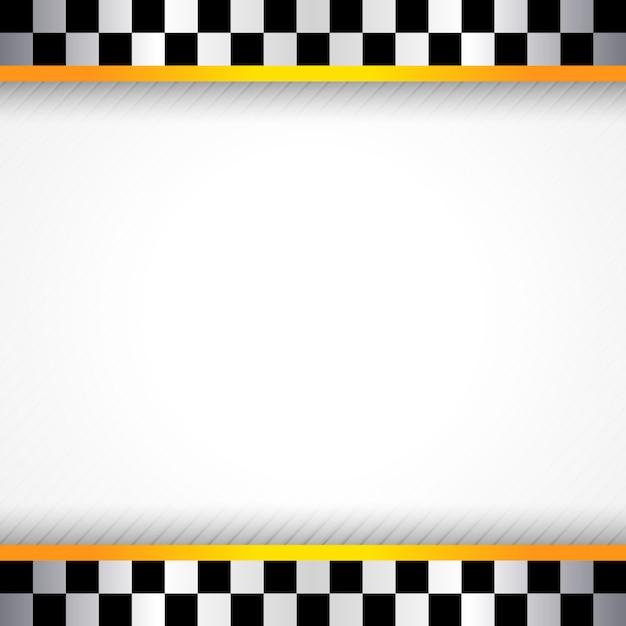 Piazza sfondo gara Vettore Premium