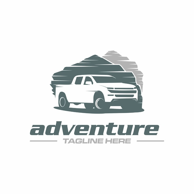 Pick up truck adventure Vettore Premium