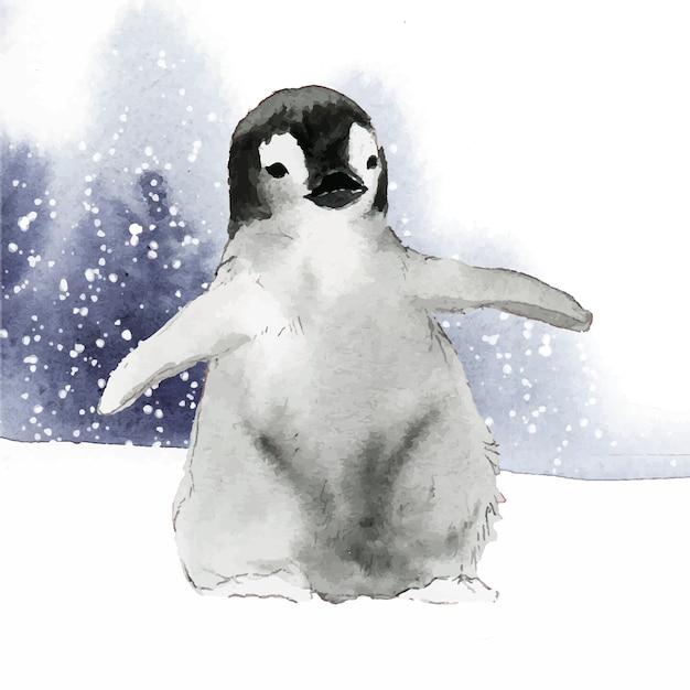Pinguin Vettore gratuito
