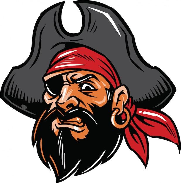 Pirata Vettore Premium