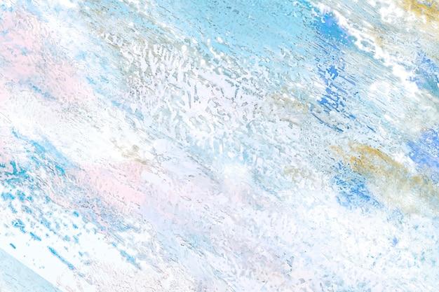 Pittura astratta su una tela Vettore gratuito