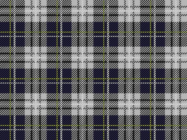 Plaid scozzese senza cuciture Vettore Premium