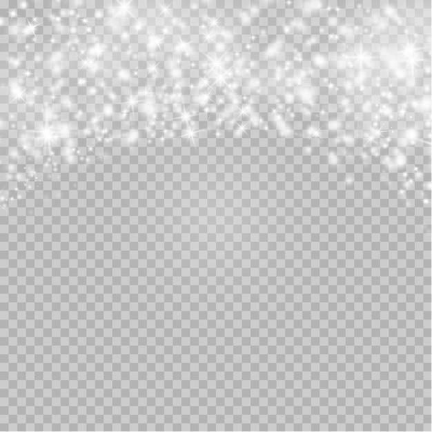 Polvere di natale flash Vettore Premium