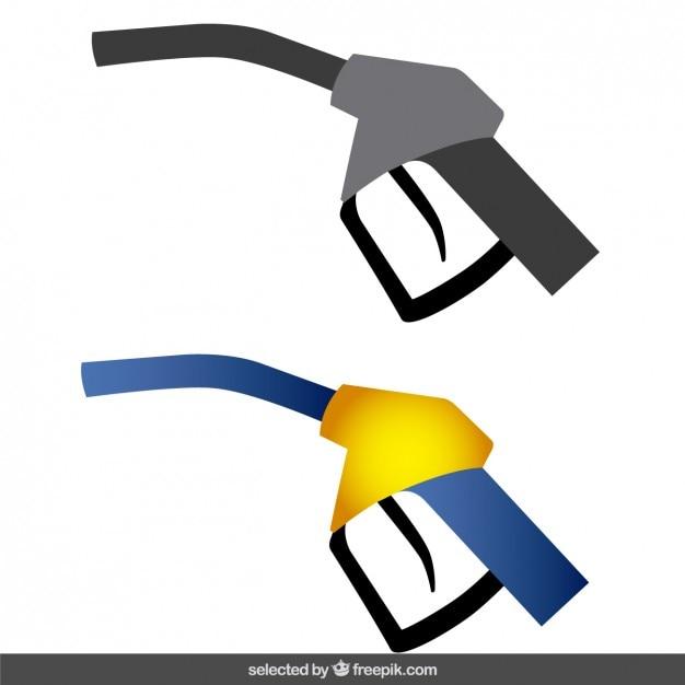 Pompe di carburante Vettore gratuito