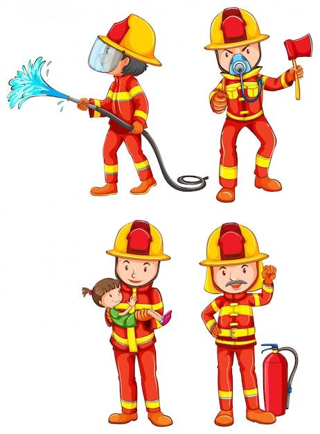 Pompiere Vettore gratuito