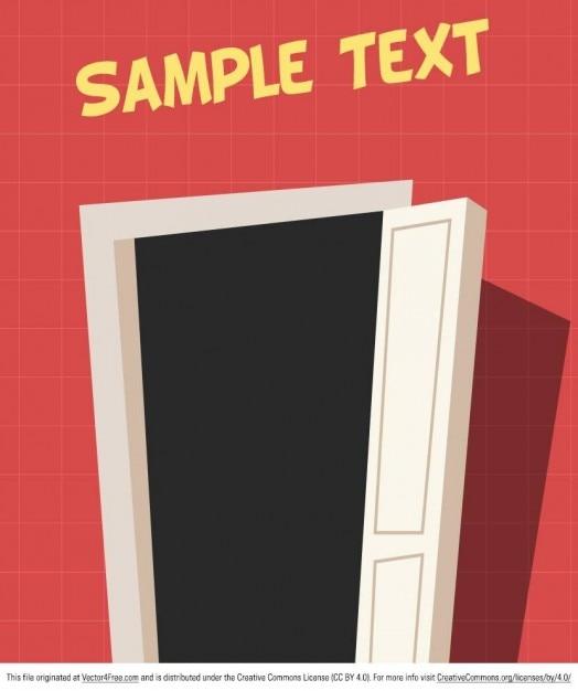 Porta di casa con stile cartone animato scaricare for Costruttore di casa gratuito