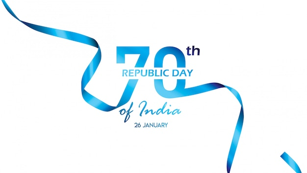 Poster, banner o flyer creativi per republic day of india Vettore Premium