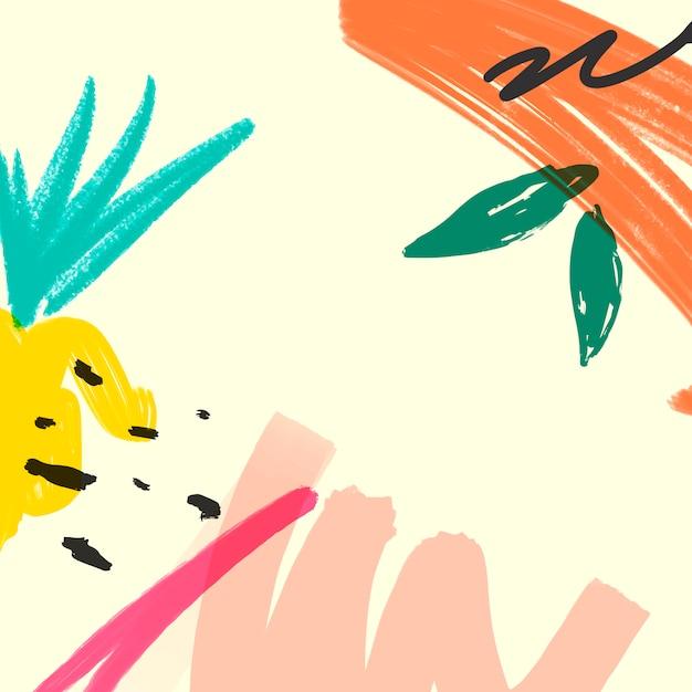Poster di sfondo astratto Vettore gratuito