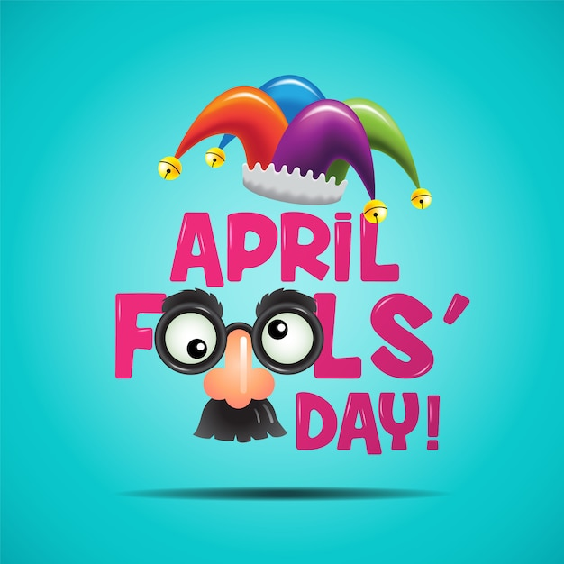 Primo d'aprile Vettore Premium