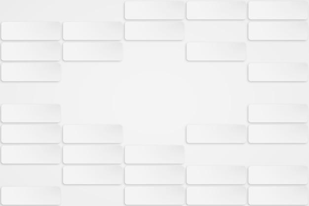 Priorità bassa astratta bianca nello stile del documento 3d Vettore gratuito