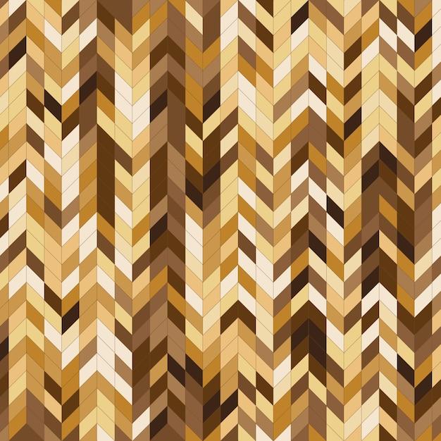 Priorità bassa astratta del reticolo della banda di colore dell'oro Vettore Premium