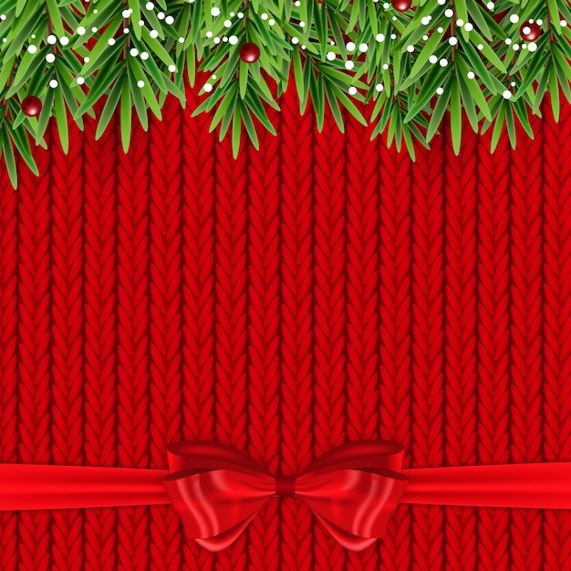 Priorità bassa astratta di nuovo anno di festa e buon natale. Vettore Premium
