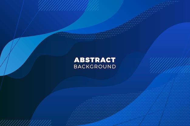 Priorità bassa blu classica ondulata astratta Vettore gratuito