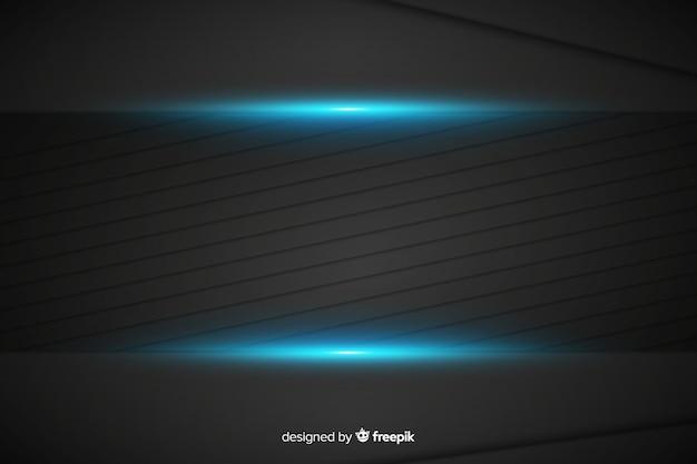 Priorità bassa blu metallica astratta di struttura Vettore gratuito