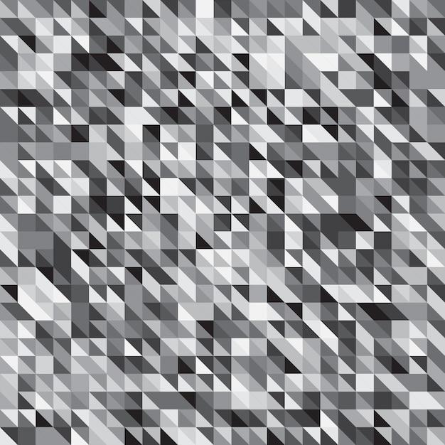Priorità bassa del motivo a strisce di colore grigio pixelated Vettore Premium