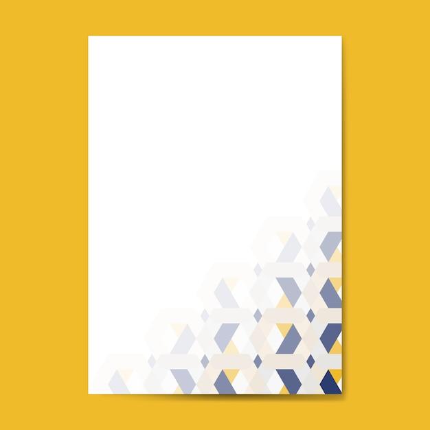Priorità bassa del reticolo esagonale 3d multicolore Vettore gratuito