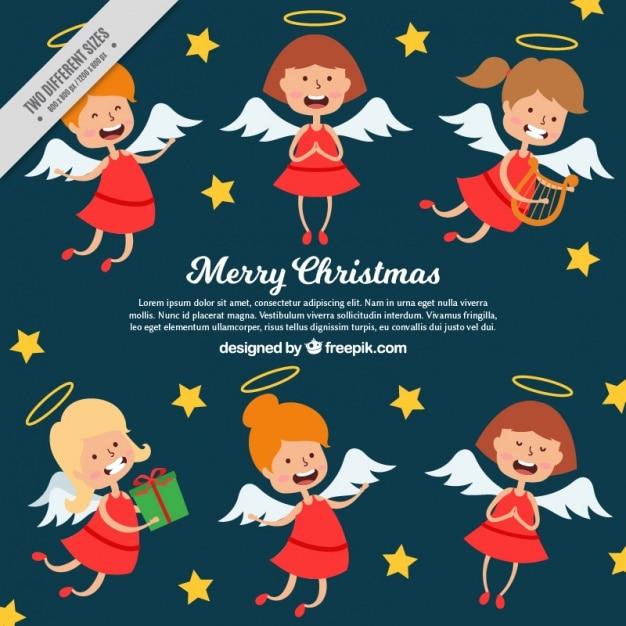Foto Divertenti Di Buon Natale.Priorita Bassa Di Buon Natale Con Gli Angeli Divertenti Scaricare