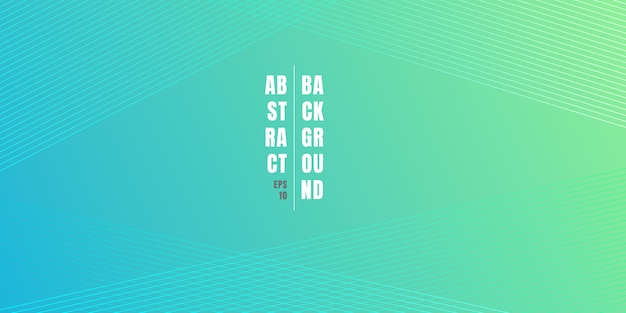 Priorità bassa di gradiente di colore vibrante blu e verde astratto Vettore Premium