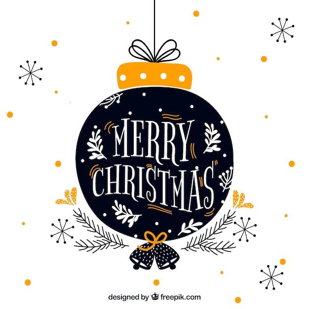 Priorità bassa di natale dell'albero di Natale Vettore gratuito