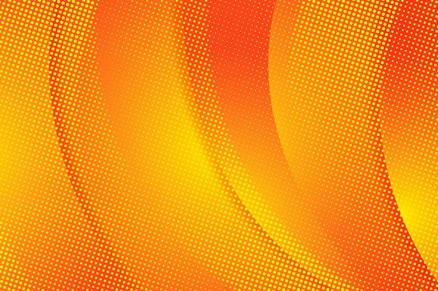 Priorità bassa di semitono arancione astratta Vettore gratuito