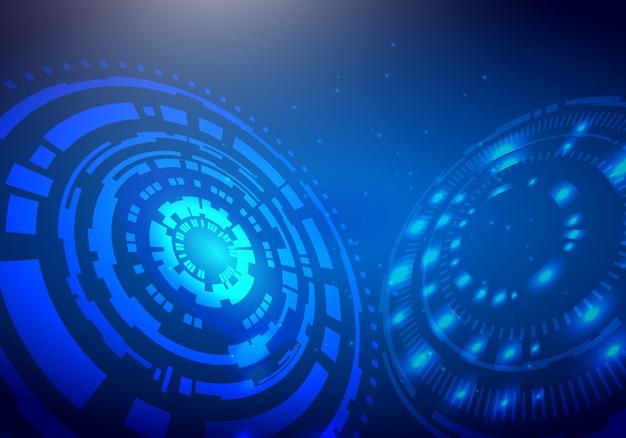 Priorità bassa di tecnologia digitale di concetto Vettore Premium