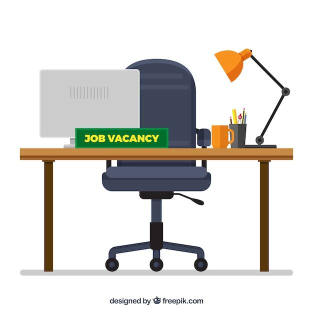 Priorità bassa di vacanza di lavoro in stile piano Vettore gratuito