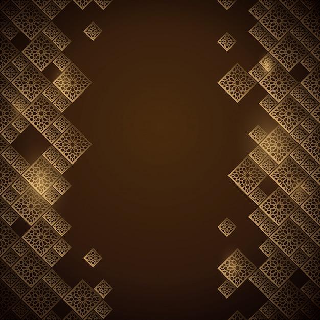 Priorità bassa geometrica araba dell'ornamento del marocco Vettore Premium
