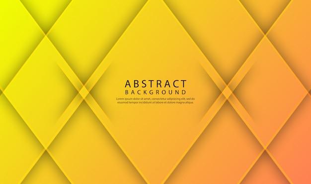 Priorità bassa geometrica astratta moderna con gradiente dinamico Vettore Premium