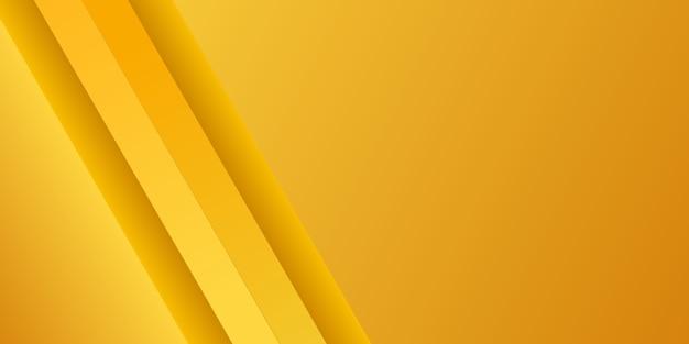 Priorità bassa gialla variopinta di gradiente moderno astratto Vettore Premium