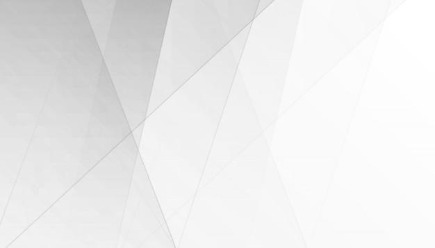 Priorità bassa grigia bianca astratta di colore di gradiente Vettore Premium