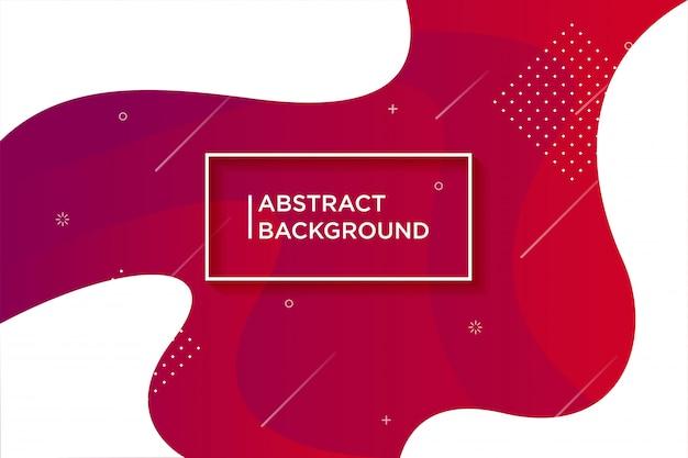 Priorità bassa strutturata dinamica in stile 3d con colore rosso. Vettore Premium