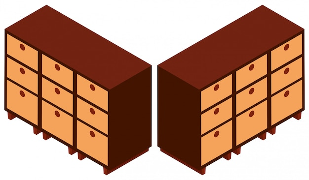 Progettazione 3d per armadi in legno scaricare vettori for Progettazione 3d gratis
