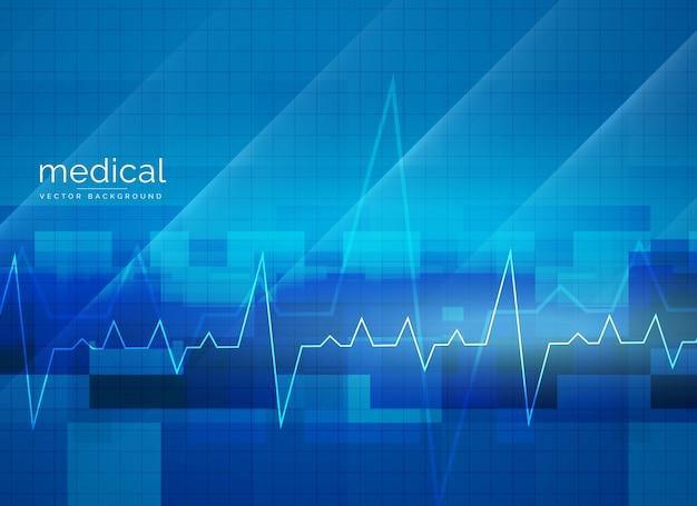 Progettazione astratta del manifesto di vettore medico di sanità Vettore gratuito