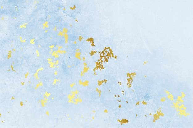 Progettazione blu d'annata del fondo di struttura della stagnola di oro Vettore gratuito