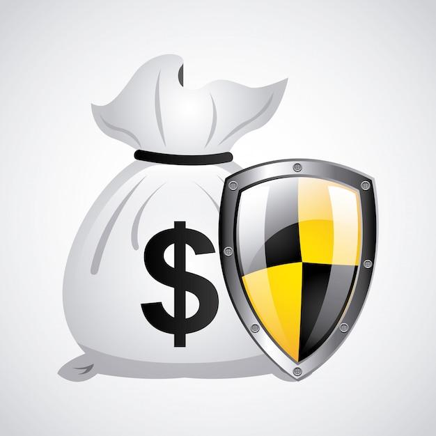Progettazione di denaro Vettore Premium