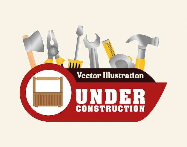 Progettazione di strumenti Vettore Premium