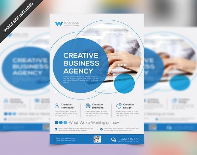 Progettazione flyer Vettore Premium