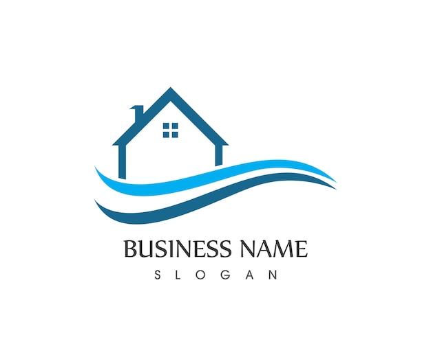 Progettazione logo casa di costruzione immobiliare for Software di progettazione di costruzione di case gratuito