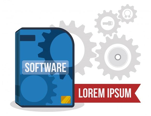 Progettazione software Vettore Premium