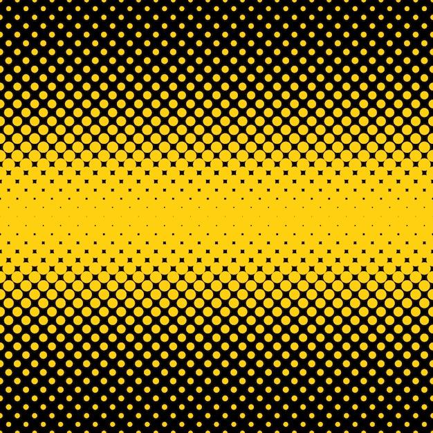 Punti di mezzitoni neri e gialli indietro Vettore gratuito