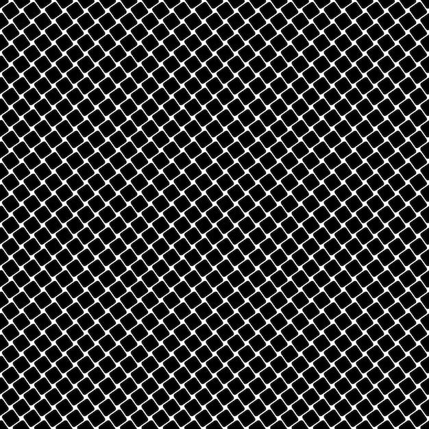 Quadrato quadrato in bianco e nero - sfondo vettoriale geometrico Vettore gratuito
