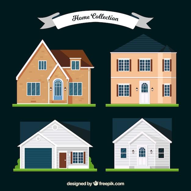 Awesome quattro facciate delle case moderne in design for Facciate case moderne
