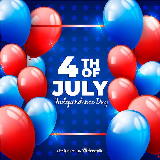 Quattro luglio Vettore gratuito