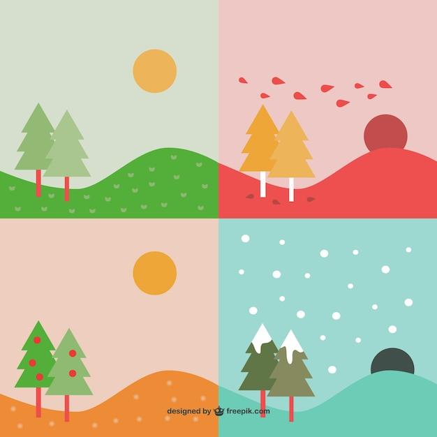 Sfondi desktop stagioni