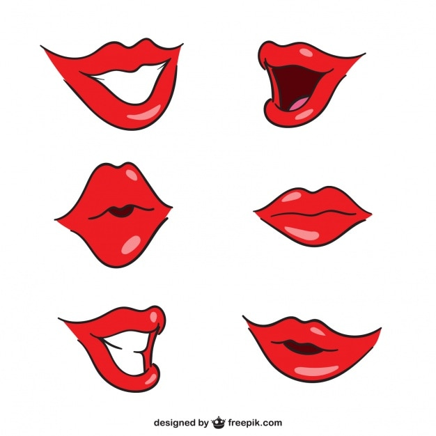 Lips vector file