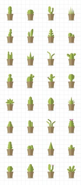 Immagini Di Piante E Alberi raccolta di piante e vettori di alberi | vettore gratis