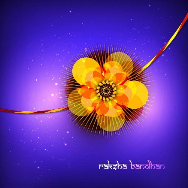 Raksha bandhan sfondo Vettore gratuito